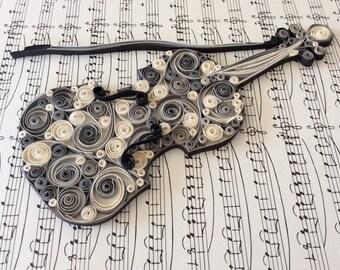 Violin Inagh Ridge - Original art piece