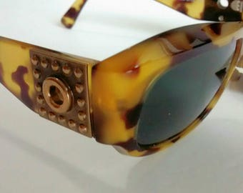 Vintage Versace Mod 395 Col 867 FB Sunglasses