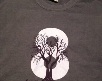 Bohanan Tee Gray T-Shirt Comfort Color Extra Large