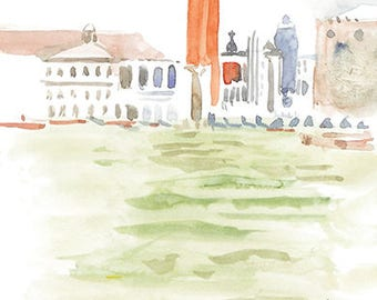St Mark's Venice Card