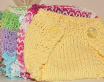 Knit Diaper Cover (Newborn)