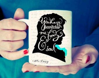 Mr Darcy and Lizzie Mug