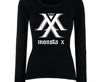 Monsta X Logo Top / Monsta X Shirt / Monsta X K-Pop