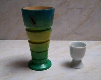 Wood goblet