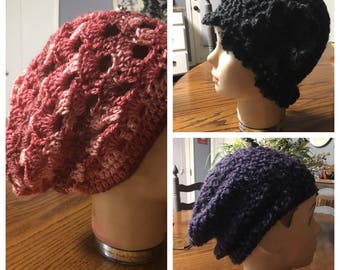 Adorable crochet hats