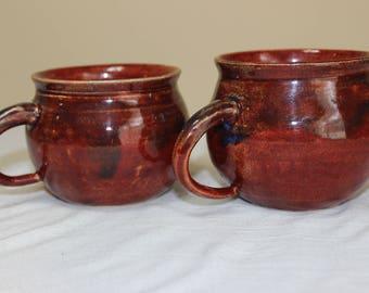 Handmade ceramic Mug set