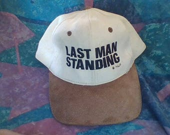 Last Man Standing, leather strap hat