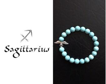 Turquoise Sagittarius Birthstone bracelet