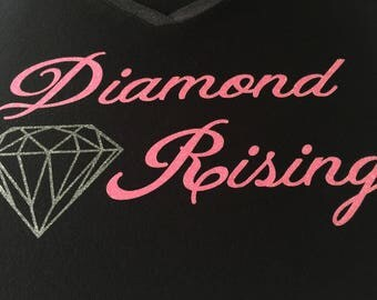 Diamond Rising Essential Oil t shirt, essential oils custom made shirt, Young Living