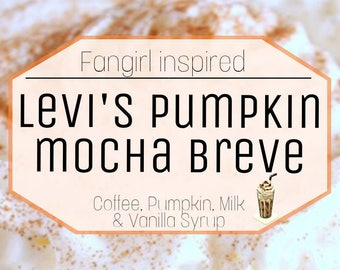 Levi's Pumpkin Mocha breve