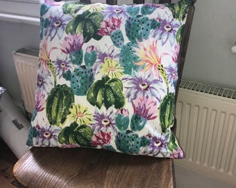 Handmade decorative cushion