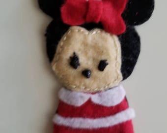 Minnie Finger Puppet