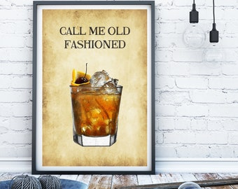 Funny Alcohol print, whiskey print, kitchen print, kitchen sign, funny bar print, bar art gift for dad gift for boyfriend whiskey lover gift