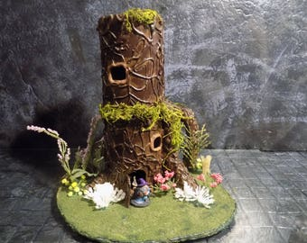 Two Story 28mm Elven Tree House