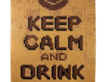 Keep Calm Drink Coffee Wall Decor
