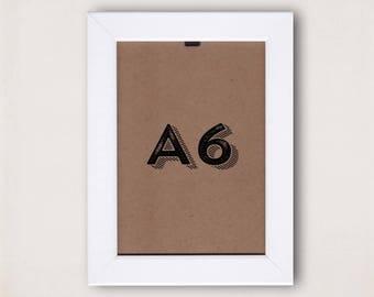 A6 WOODEN FRAMES