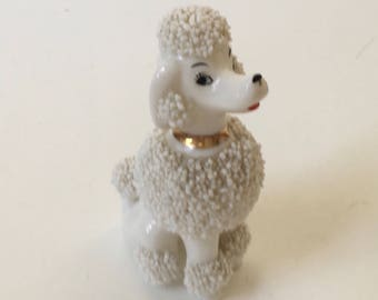 Vintage Porcelain French Poodle