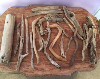 20 Assorted pieces of Driftwood