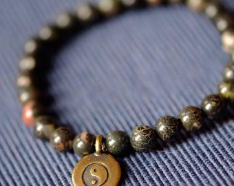 Sunset jasper bracelet
