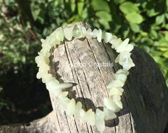 Jade Reiki Crystal Bracelet