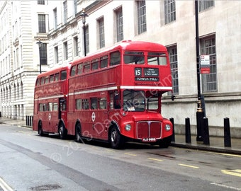London Two Red Buses - Digital Download