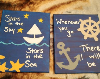 Custom canvas paintings