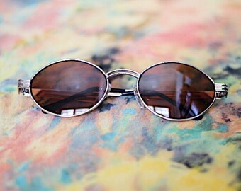 90's Oval Sunglasses