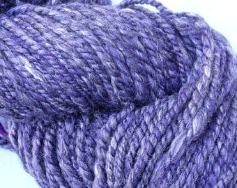 Merino and silk yarn