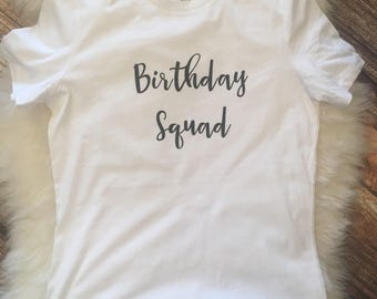Snap Birthday Squad Shirt Etsy Photos On Pinterest