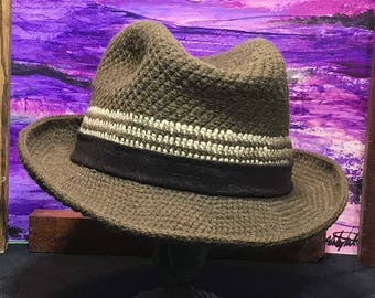 Brown Western Style Hat