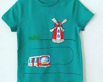 Child t-shirt in pure cotton, tg. 5 years-mill