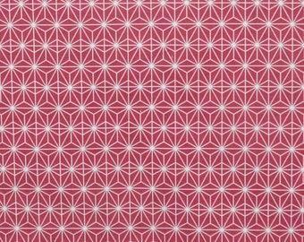 Fabric, Scandinavian style, Sun East, raspberry, thévenon