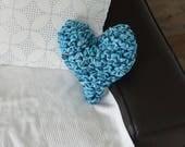 Handmade crochet heart cu...