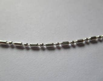 Silver 1.5 mm ball chain
