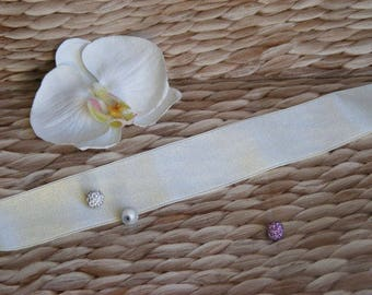 Ribbon Satin 38 mm x 2 meters for sewing and embellishments