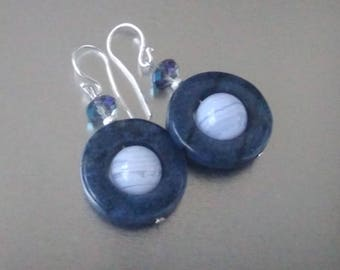 Earrings - celestial - (necklace - matching)