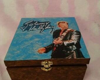 Johnny Hallyday jewelry or keepsake box