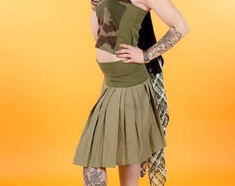 skirt pleated long original