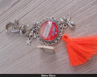 Keychain jewelry bag to the