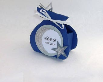 Containing sweets - starry night theme - wedding, wedding guest gifts