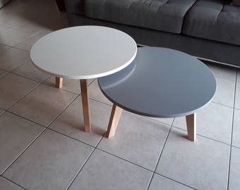 Duo nesting tables
