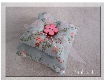 Pillows scents powder blue shabby