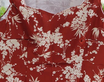 Blouse, Top dress, Japanese Style, cherry blossoms