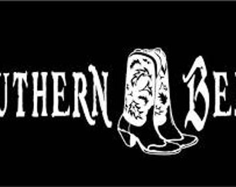 Southern Belle decal