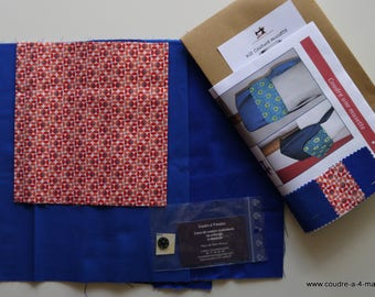 Musette bag sewing kit