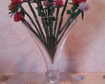 Bouquet of 13 beads (with vase)