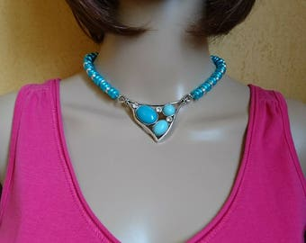 The Choker necklace beads