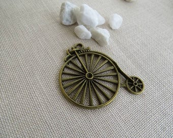 Charm bronze bicycle tour of 4.5 cm in height