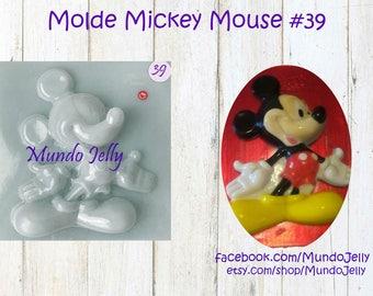Mickey Mouse Jello Mold / Molde para Gelatina Mickey Mouse