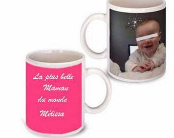 Mothers day mug with personalized